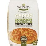 Wrights Garlic and Rosemary Focaccia Bread Mix 500g