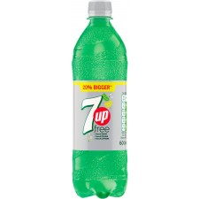7 Up Free 600ml Bottle