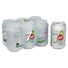 7 Up Free 6 x 330ml Cans
