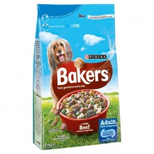 Bakers Complete Beef And Vegetables Dry Dog Food 2.7kg