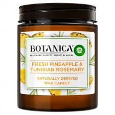 Airwick Botanica Candle Pineapple and Tunisian Rosemary 205g