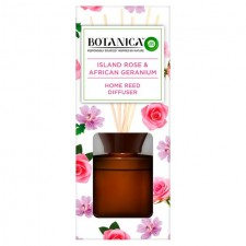 Airwick Botanica Reed Diffuser Island Rose and African Geraneum 80ml