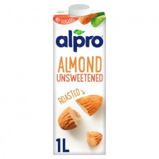 Alpro Unsweetened Almond UHT Drink 1 Litre