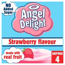 Angel Delight No Added Sugar Strawberry 47g