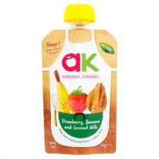 Annabel Karmel Organic Strawberry Banana and Coconut Milk 100g