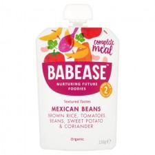 Babease Organic Mexican Beans 130g