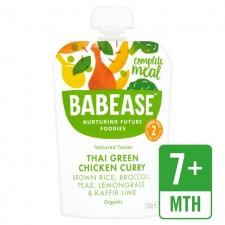 Babease Organic Thai Green Chicken Curry 130g