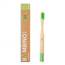 Bamboo Club Bambino Green Kids Toothbrush