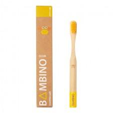 Bamboo Club Bambino Yellow Kids Toothbrush