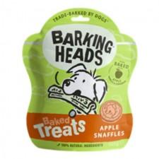 Barking Heads Baked Dog Treats Apple Snaffles 100g