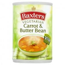 Baxters Vegetarian Carrot and Butterbean Soup 400g