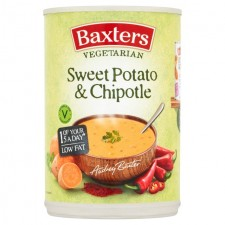 Baxters Vegetarian Sweet Potato and Chipotle Soup 400g