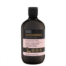 Baylis And Harding Goodness Rose And Geranium Bath Soak 500ml