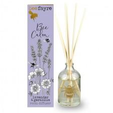 Beefayre Bee Calm Lavender and Geranium room diffuser 100ml