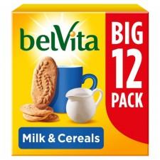 Belvita Milk And Cereal Breakfast Biscuits 12 Pack