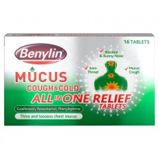 Benylin Mucus All in One Relief Tablets 16 per pack