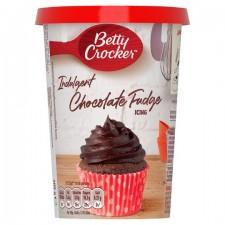 Betty Crocker Indulgent Chocolate Fudge Icing 400g