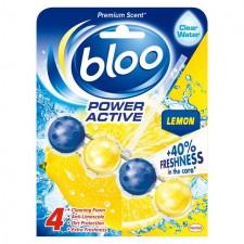 Bloo Power Active Lemon Toilet Rim Block 50G