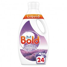 Bold 2in1 Lavender and Camomile Liquid 24 Washes 840ml