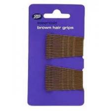 Boots Essentials Brown Hair Grips