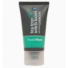 Boots Tea Tree and Witch Hazel Charcoal Face Mask 50ml