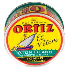 Brindisa Ortiz Yellowfin Tuna Fillets in Olive Oil 250g
