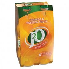 Britvic J2O Orange And Passion Fruit 4 X 275ml