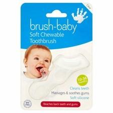 Brush-Baby Teether Brush 10 months - 3 Years