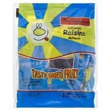 Buchanans Californian Raisins 12 x 21.5g