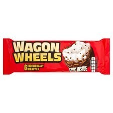 Burtons Original Wagon Wheels 6 Pack