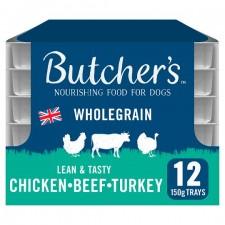 Butchers Chicken Turkey Beef 12 x 150g