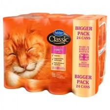 Butchers Classic Cat Food Meat and Fish Variety 24 x 400g