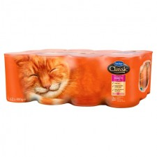 Butchers Classic Cat Food Meat and Fish Variety Pack 12 x 400g