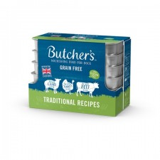 Butchers Grain Free Traditional Recipes 12 x 150g
