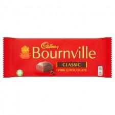Cadbury Bournville Chocolate Dark 180g