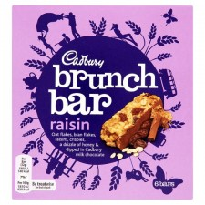 Cadbury Brunch Bar Raisin 6 Pack
