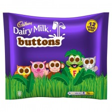 Cadbury Chocolate Buttons Treatsize 12 Pack