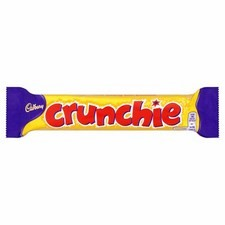 Cadbury Crunchie Chocolate Bar