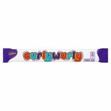 Cadbury Curly Wurly box of 48