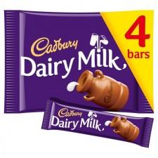 Cadbury Dairy Milk 4 x 36g