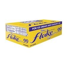 Cadbury Flakes 144 Bar Pack ideal For Ice Cream 99s