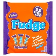 Cadbury Fudge Treatsize Pack 202g