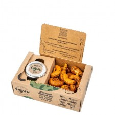Cajuu Lake Natron Salt and Pepper Cashew Tray with Herb Dip 100g