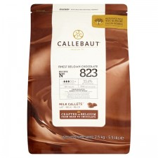 Callebaut Finest Belgian Chocolate Milk Callets From Roasted Whole Cocoa Beans 2.5kg