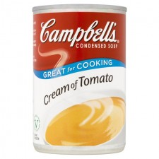 Campbells Cream Of Tomato Condensed Soup 295g
