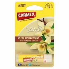 Carmex Premium Stick Vanilla Lip Balm SPF15 4.25g