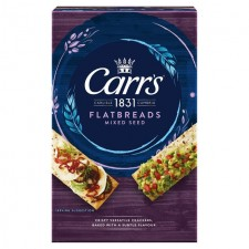 Carrs Flatbread Mixed Seeds 150g