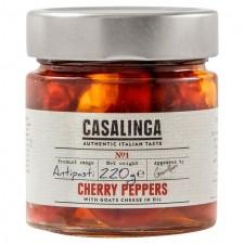 Casalinga Cherry Pepper and Goat Cheese 220g