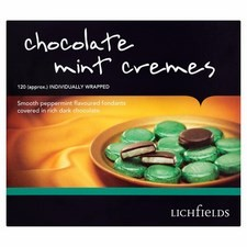 Catering Pack Lichfields Chocolate Mint Cremes 1kg