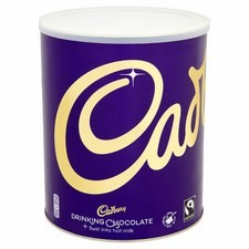 Catering Size Cadbury Drinking Chocolate 2kg tub (make with milk)
